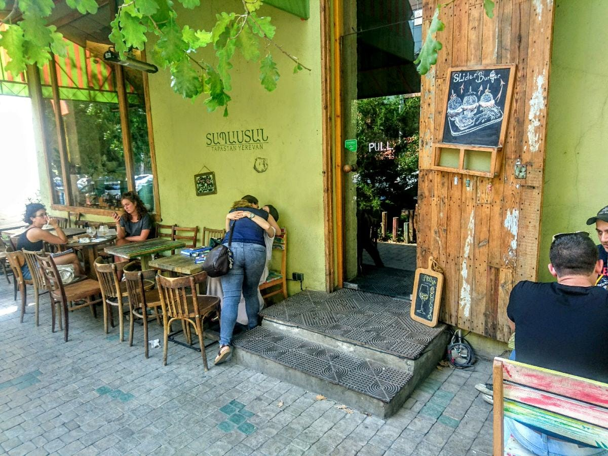 Tapastan Wine Bar, Yerevan