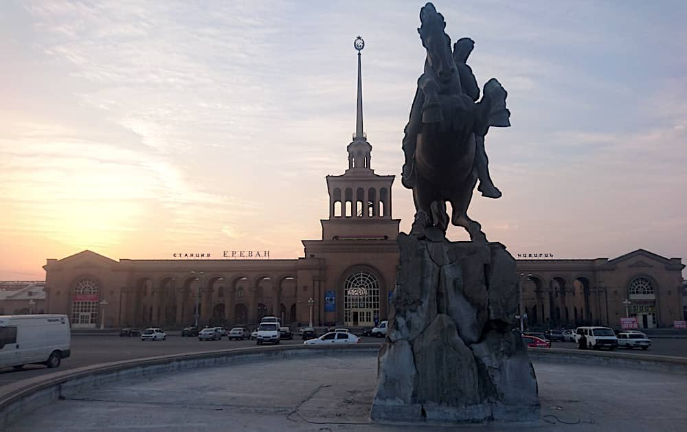 Train Station, Yerevan